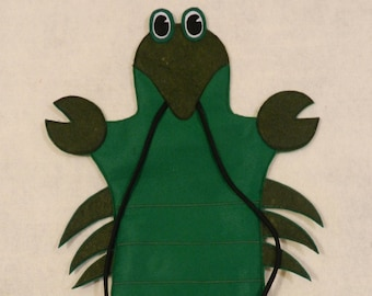 Сrawfish hand puppet, Puppet Theater
