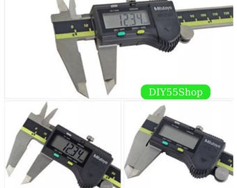 High Quality Mitutoyo Digital Vernier Calipers 0-150 0-300 0-200mm LCD Calipers Micrometer Electronic Measuring Stainless Steel