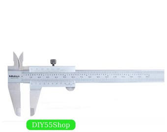 High Quality Mitutoyo Vernier Caliper 0-150 0-200 0-300 0.02 Precision Micrometer Measuring Stainless Steel Inspector Measuring Tools