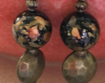 Boho Style Pierced Earrings