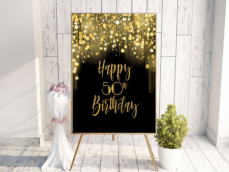 Fiftieth Birthday 50th Party Ideas Favors