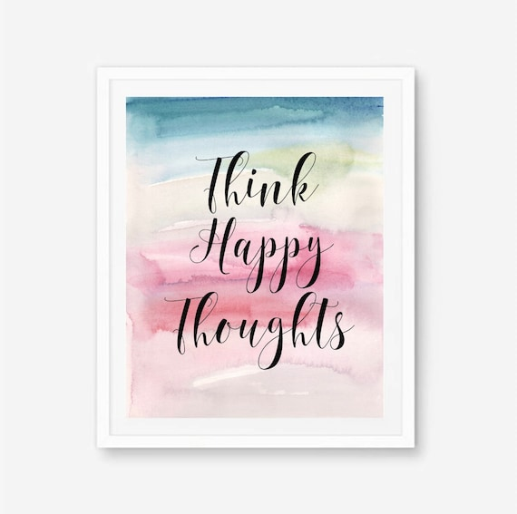 Elegant Think Positive Thoughts Images