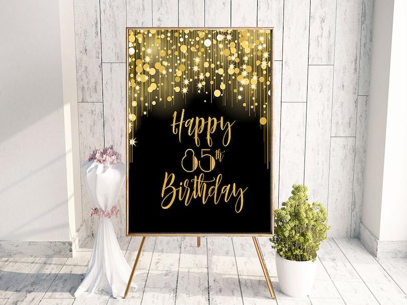 85th Birthday Happy Party