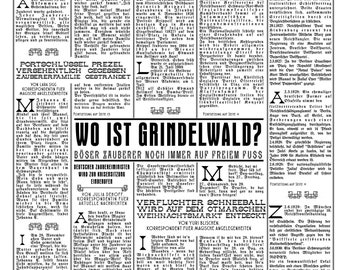 Der Portschlüssel - die Tageszeitung for das magische Deutsche Volk