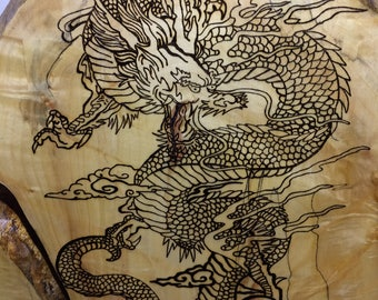 Samurai and Dragon on Box Elder