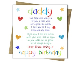 Nice birthday cards for dad