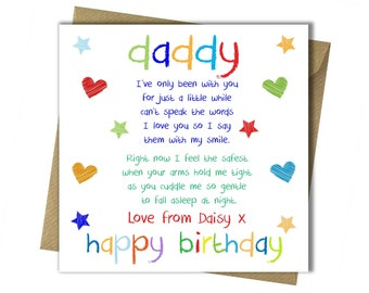 Dad Birthday Card Etsy