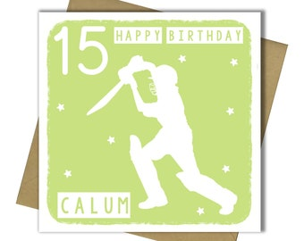 Field Hockey 17th Birthday Card Boys Son Grandson Friend Brother Nephew teenager