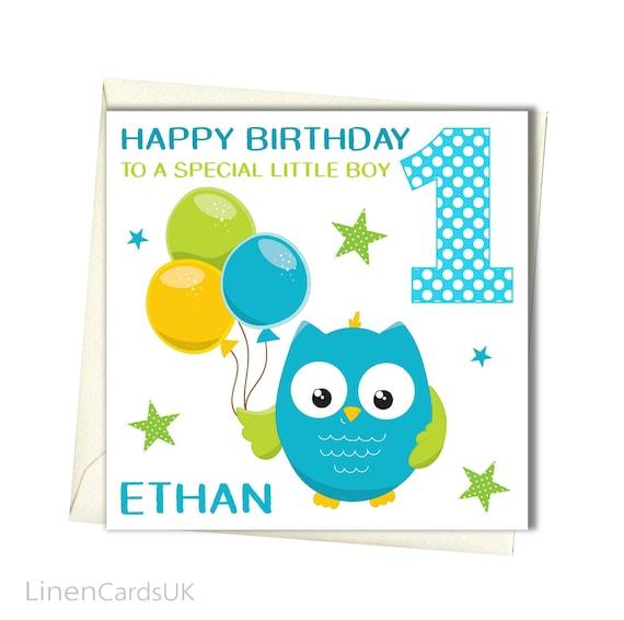 Personalised Boys Birthday Card Birthday Card Brother Godson Etsy