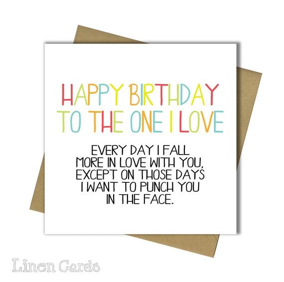 Husband Wife Boyfriend Girlfriend Partner Birthday Card 30th
