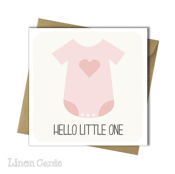 new baby girl card it s a girl card new arrival card etsy