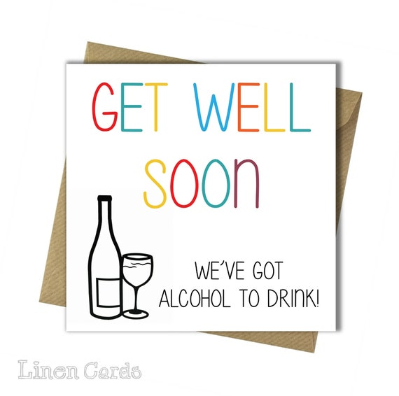Get Well Soon Card Speedy Recovery After Operation Card Thinking Of You Card