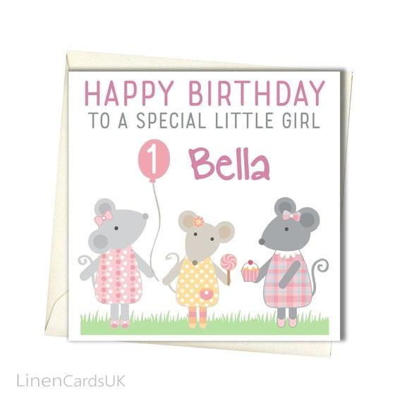 Personalised Birthday Card Daughter