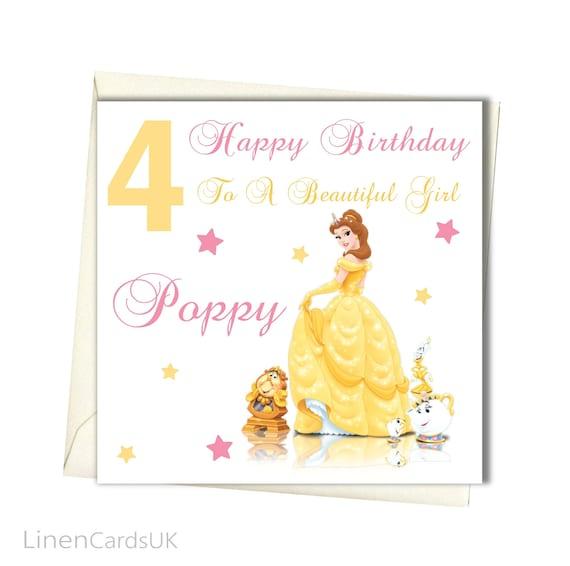 Personalised Girls Birthday Card Birthday Card Daughter Etsy