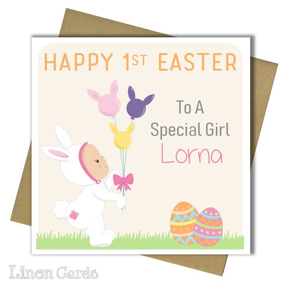 First Easter Card.
