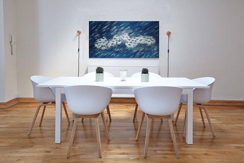 QB: quadri materici, home design, pannelli arredo casa, pittura materica,  blu, pittura moderna, astratto, abstract,quadro, decorazioni, blue