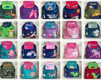 Personalized Backpack, Toddler Backpack, Personalized Gifts, Baby Backpack, Daycare Gift,  Personalized Gift, Personalized Embroidered Gifts