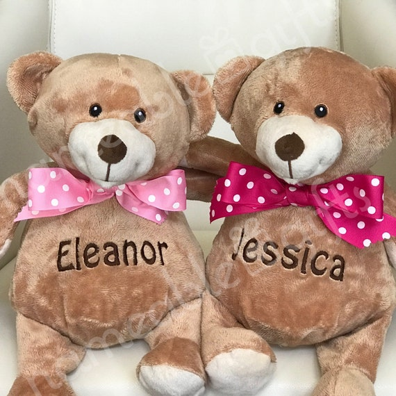 Personalized Baby Stuffed Animals, Personalized Stuffed Animal Personalized Teddy Bear Etsy