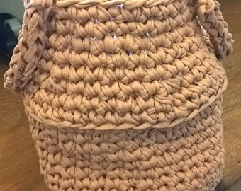 Thai crocheted basket