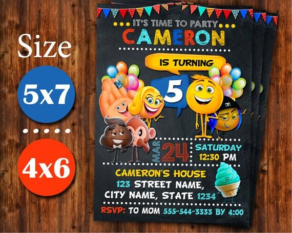 Emoji Invitation Birthday