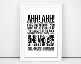 Led zeppelin lyrics etsy more colors stopboris Images