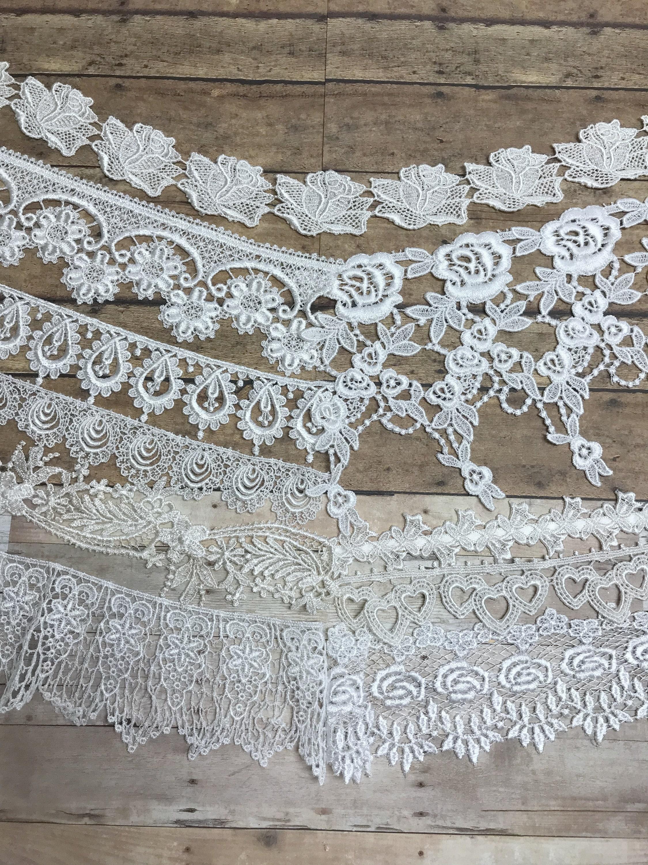 Lacets assortis de Venise.  Lacets pour et la journalisation et pour collage.  Dentelle & garnitures bb1fbe