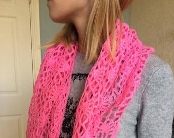 Crochet scarf wrap shawl
