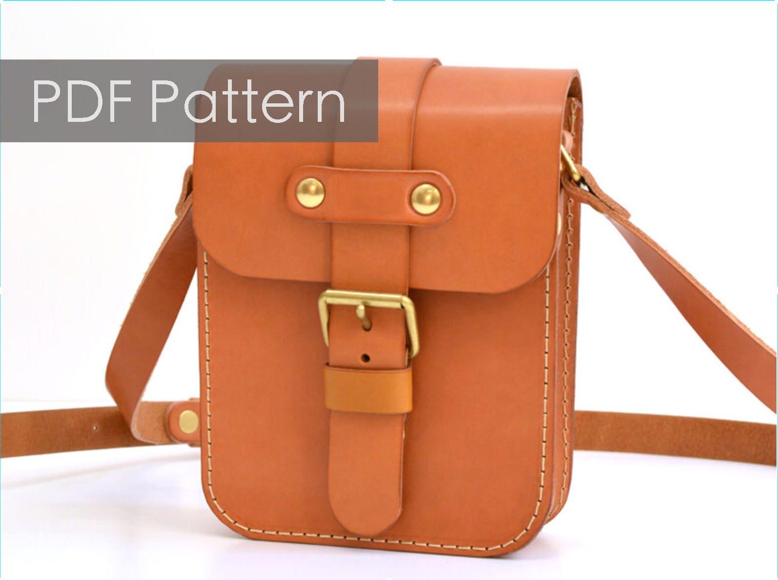 Leather Bag Pattern Pdf Custom Inspiration