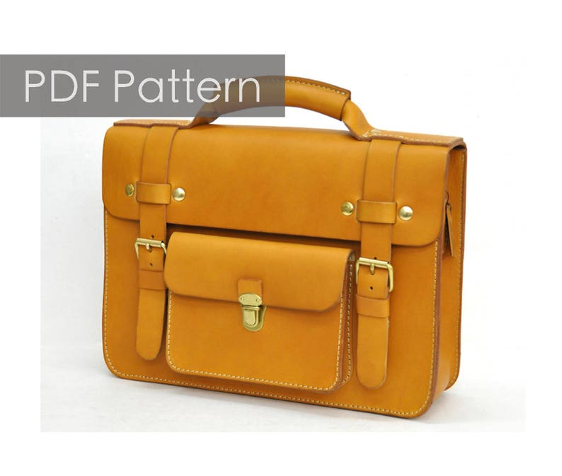 b9bb6962eada Cambridge bag pattern leather bag pattern Leather Messenger