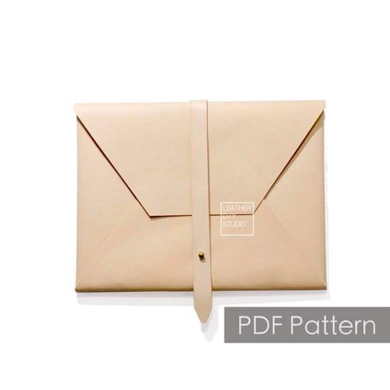 Leather Portfolio Pattern Leather Clutch Pattern Ipad Case Pattern Leather Pattern Pdf Pattern Leather Template Bag Pattern Diy