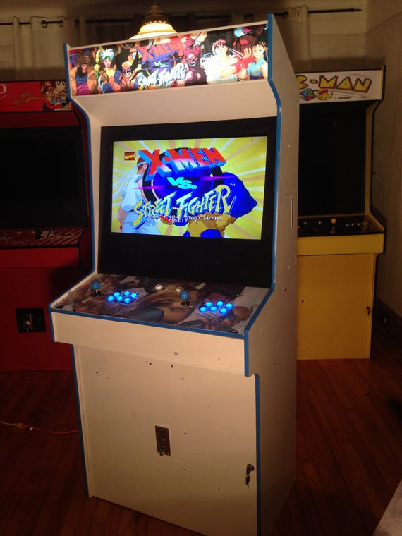 & X-Men vs Street Fighter Arcade Cabinet Upright Machine 645