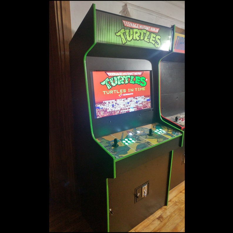 Teenage Mutant Ninja Turtles Arcade Cabinet Upright Machine TMNT 999 Games