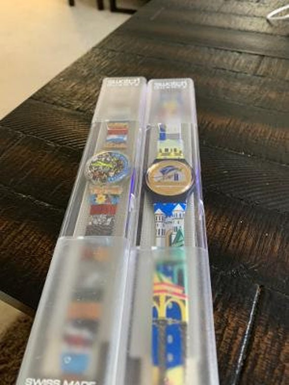 2 -1990's swatch watches