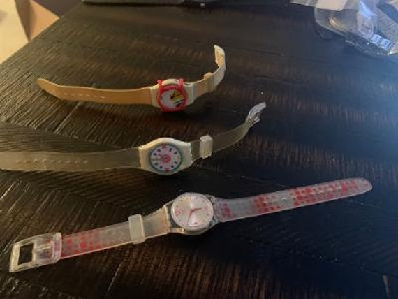 3 ladies swatch watches for sale