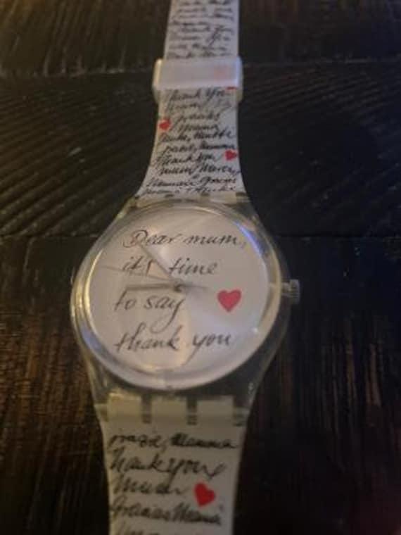 dear mum swatch watch