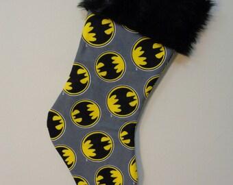 Batman Stocking - Bat Signals