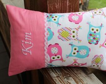 """Name pillow, cuddly pillow,""""Kim"""" 20 x 30 cm"""