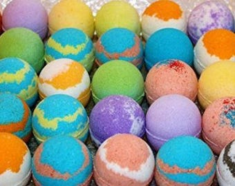 WholeSale lots of 20 Various Type Bath Bomb Fizzies. 2.5oz Assorted scent