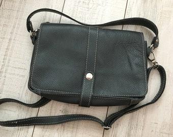 284a58c52988d Borse in Pelle genuine leather bag - Italian designer genuine leather  crossbody bag