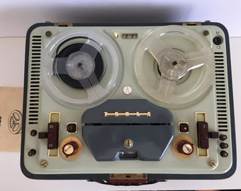 Vintage TESLA Tape recorder - Old Tape Recorder - Antique Recorder - TESLA - Collectible Recorder - Tesla Sonet Duo - Magnetofon