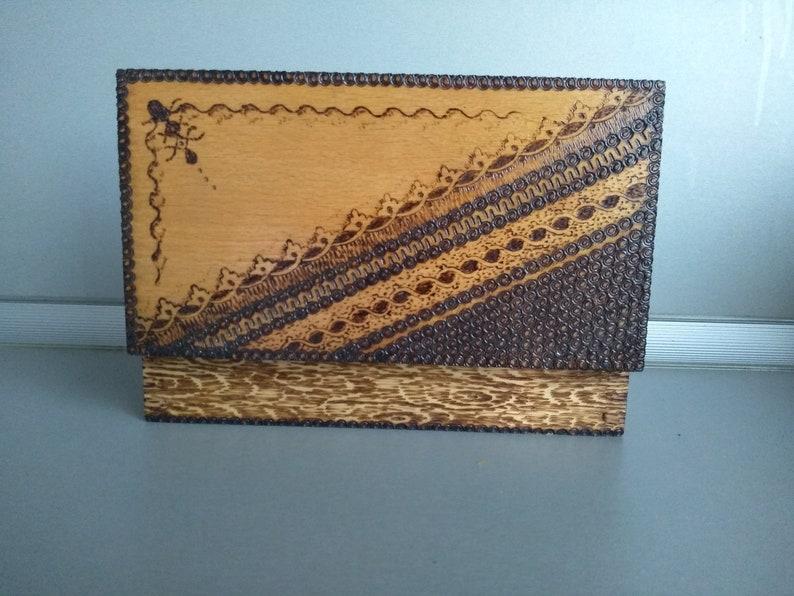 Retro box Memory Box Home decor Vintage wooden box Vintage box Jewelry box Vintage handmade wooden box Vintage Pyrography box