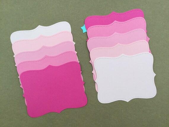 Animal Prints Cardstock 10 Sizzix Top Note Die Cut//Cuts