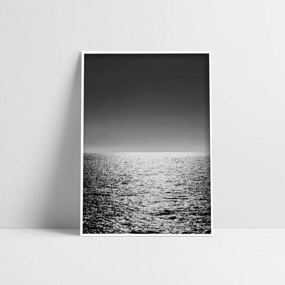photography print,wave,ocean,minimalist,sea photo Art print,nature art print,photo,poster,wall art print,modern art print Section of love