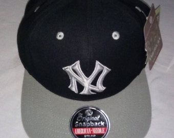 f0d0b2676bf86 Vintage New York Yankees Blockhead snapback by  American needle.