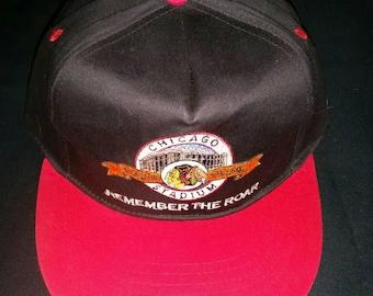bea3a0fe9 Vintage NHL Chicago Blackhawks Chicago Stadium 1929 - 1994 Anniversary  Snapback