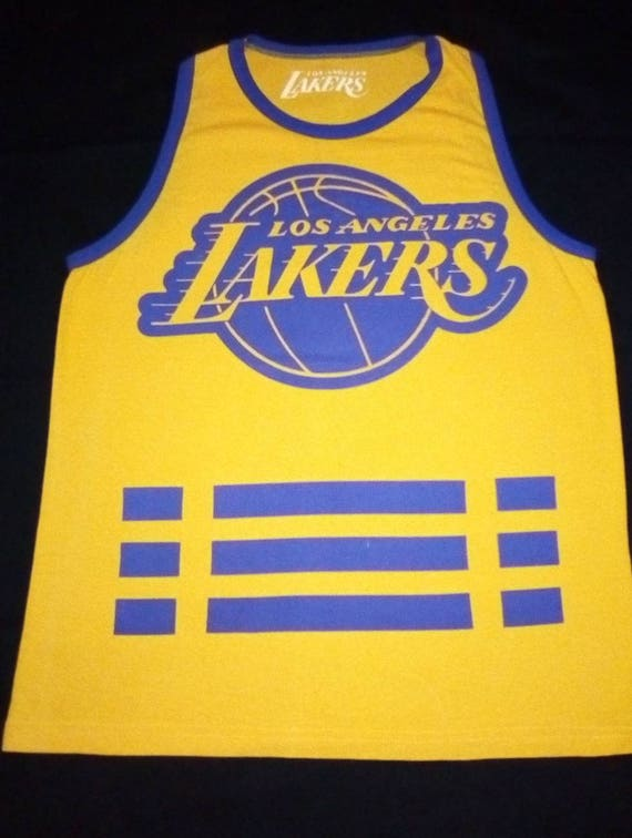 finest selection 1d42b 25667 Vintage NBA Los Angeles Lakers Classic Logo jersey. By: pro line