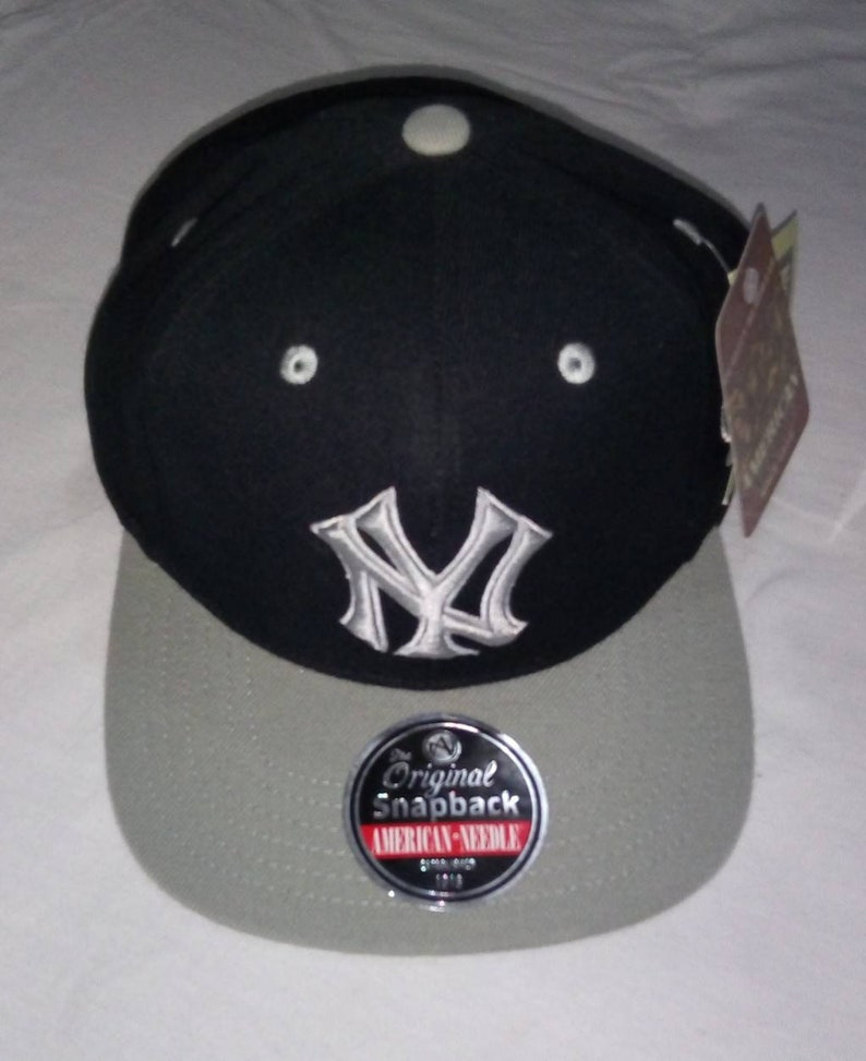 f1a70652469 Vintage New York Yankees Blockhead snapback by  American