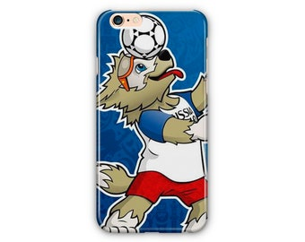 World Cup Talisman Phone Cases / World Cup 2018 Football iPhone Cases For iPhone 7 Plus Case / iPhone 8 Case / Samsung Galaxy S8 Plus Case