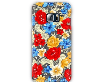 Flowers Colorful Case for iPhone & Samsung / iPhone Flowers Case / Colorful Phone Case