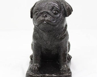 Pug garden art etsy pug sculpture pug puppy dog statue sculpture dog decor gift home decor dog puppy statue garden decor dog statue dog lover altavistaventures Images